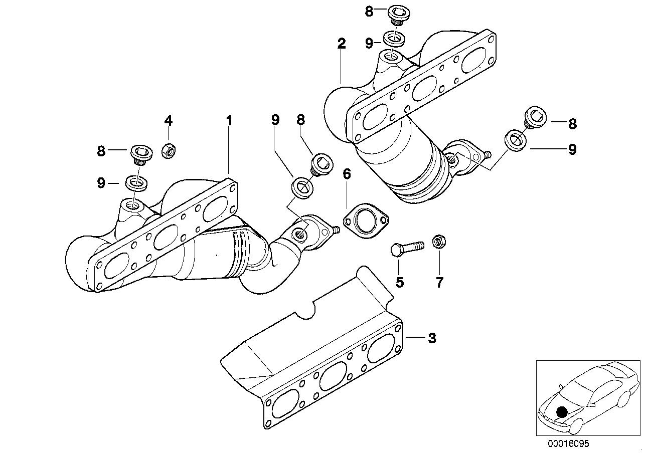 E39 P Kni Ty Pierwszy Katalizator Demonta