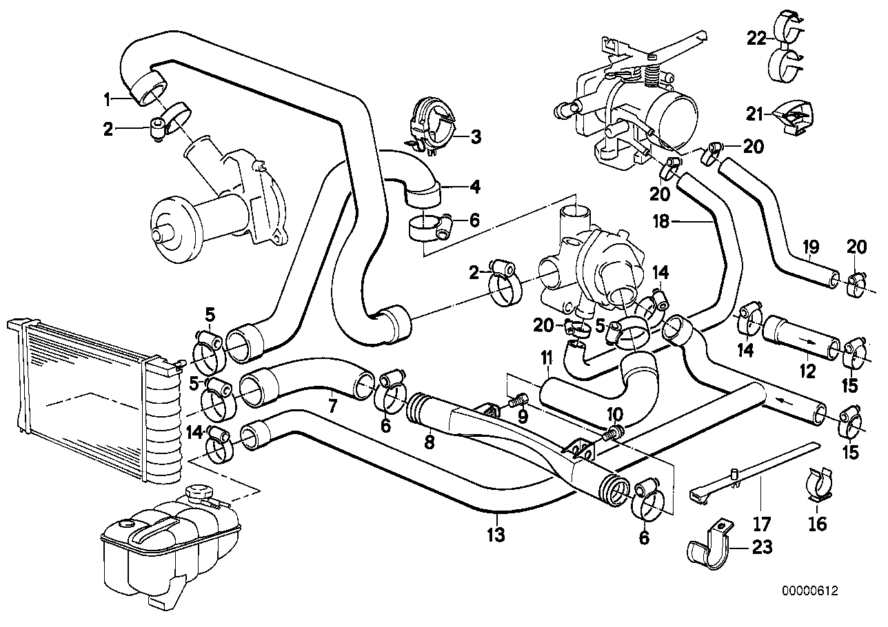 Ford Taurus Dohc Cooling System Diagram