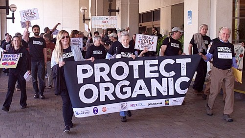 Rally to Protect Organic at Jacksonville