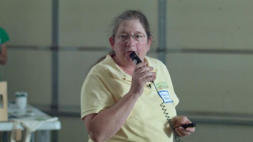 Harriet Behar speaking event