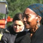 Jennifer Taylor at farm rally