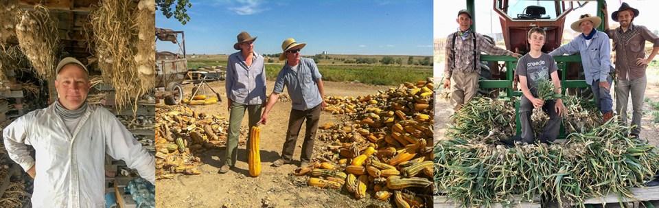 Dan Nanna and Family at Hobbs and Meyer Farms Colorado