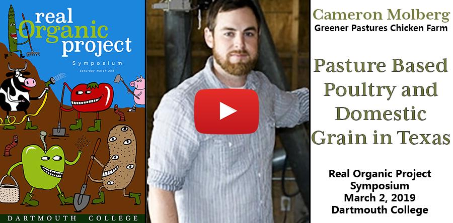 Cameron Molberg at Greener Pastures Chicken Farm