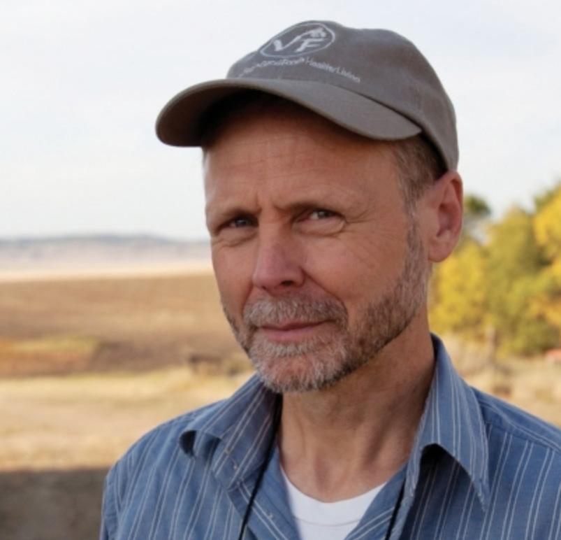 Dag Falck of Nature's Path at Legend Organic Farm in Saskatchewan