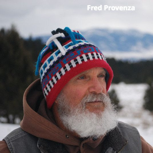 Fred Provenza in winter