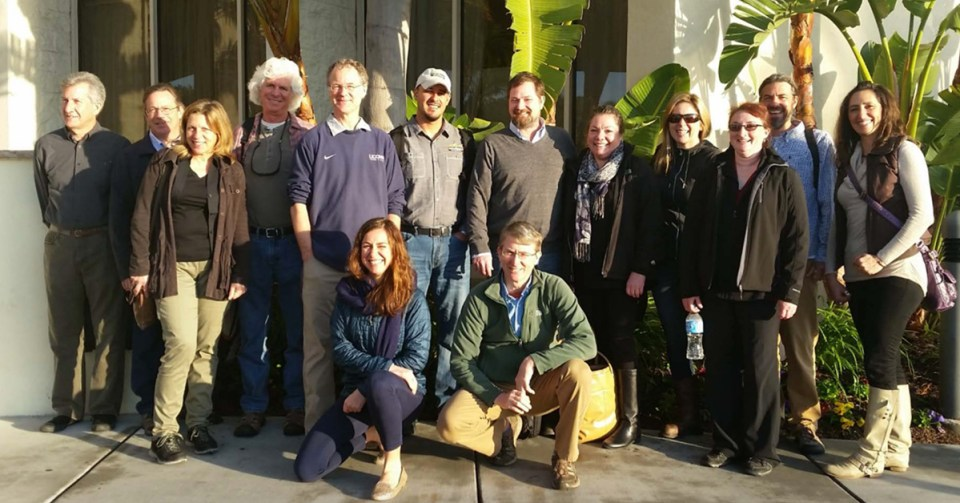 Eric Sideman and Dave with the USDA Hydro Task Force in San Diego in 2016.