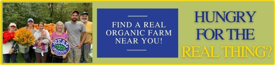 Real Organic farm near me