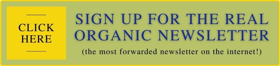 Real Organic Project Newsletter