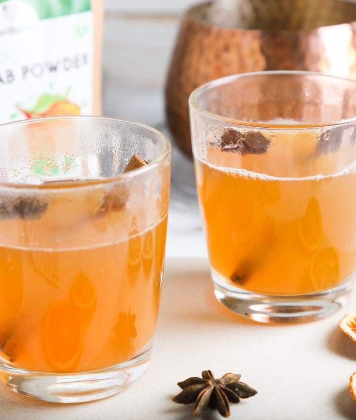"Non-Alcoholic ""Mulled Wine"" with added Baobab"