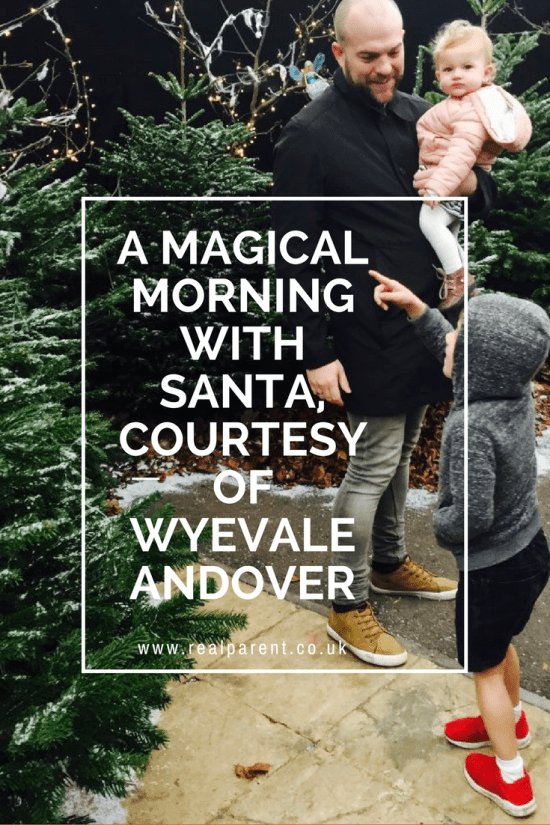 A Magical Morning With Santa, Courtesy Of Wyevale Andover | www.realparent.com