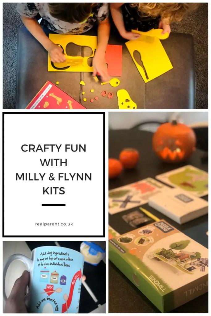 Crafty fun with Milly & Flynn kits