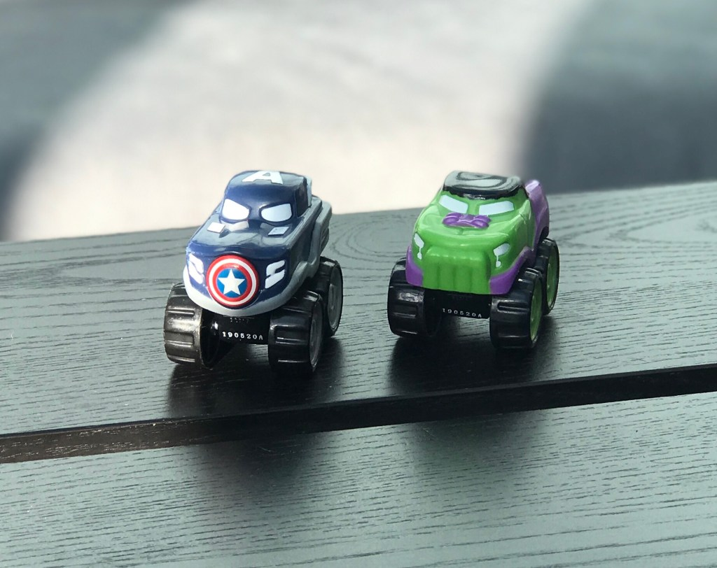 Marvel Speed Squad Hulk & Captain America