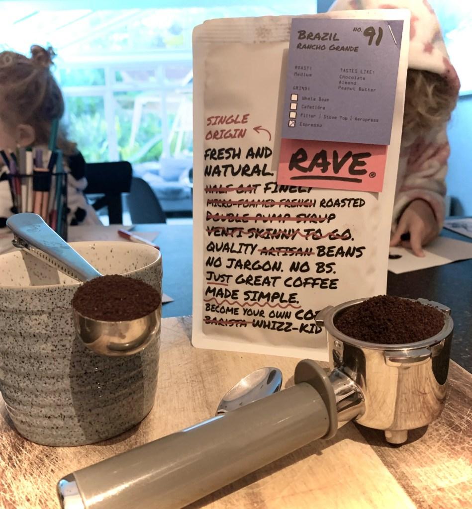 Rave Coffee Subscription Box