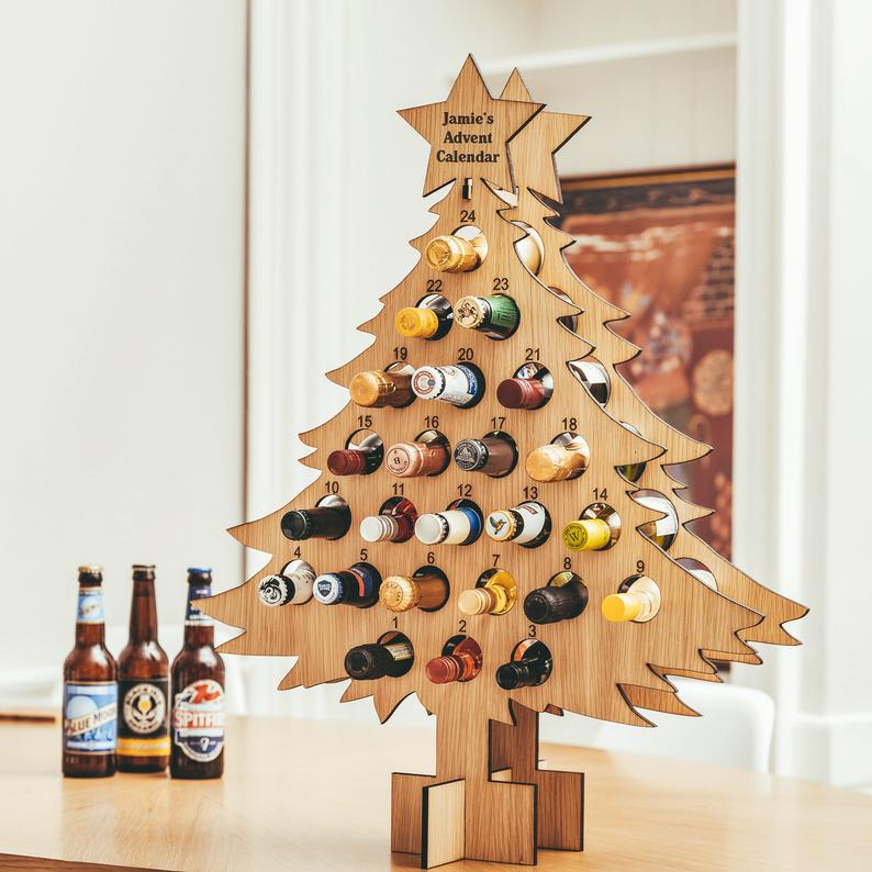 Personalised Drinks Advent Calendar
