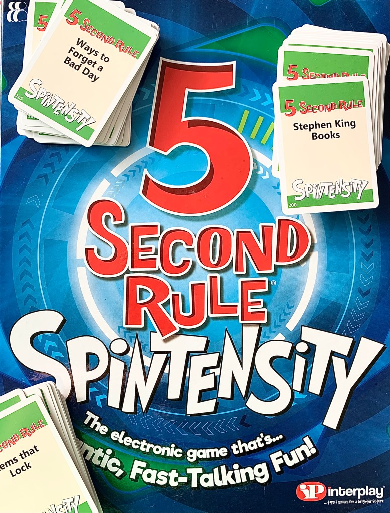 How To Play Spintensity 5 Second Rule Cards