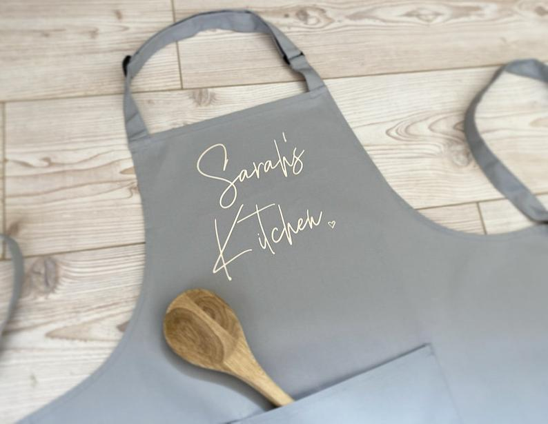 Personalised Apron with Pocket