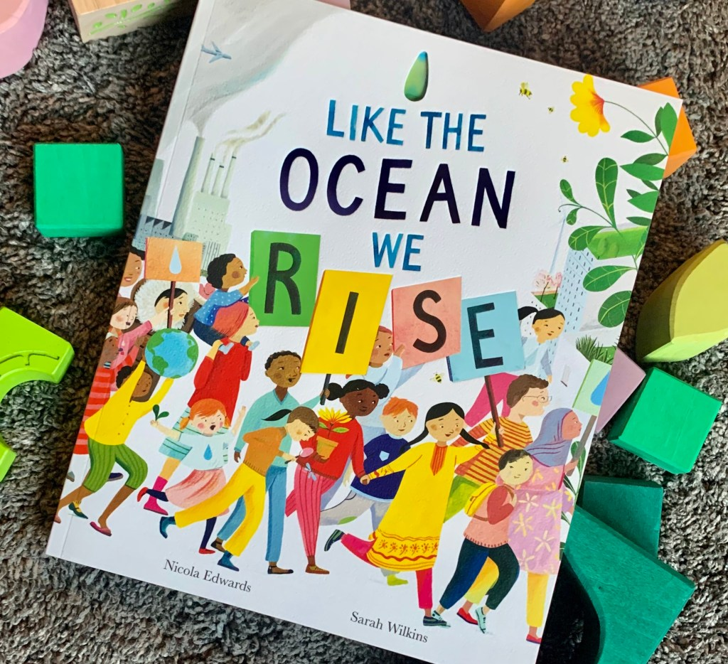 Children's Books About Climate Change And The Planet: Like the ocean we rise book cover