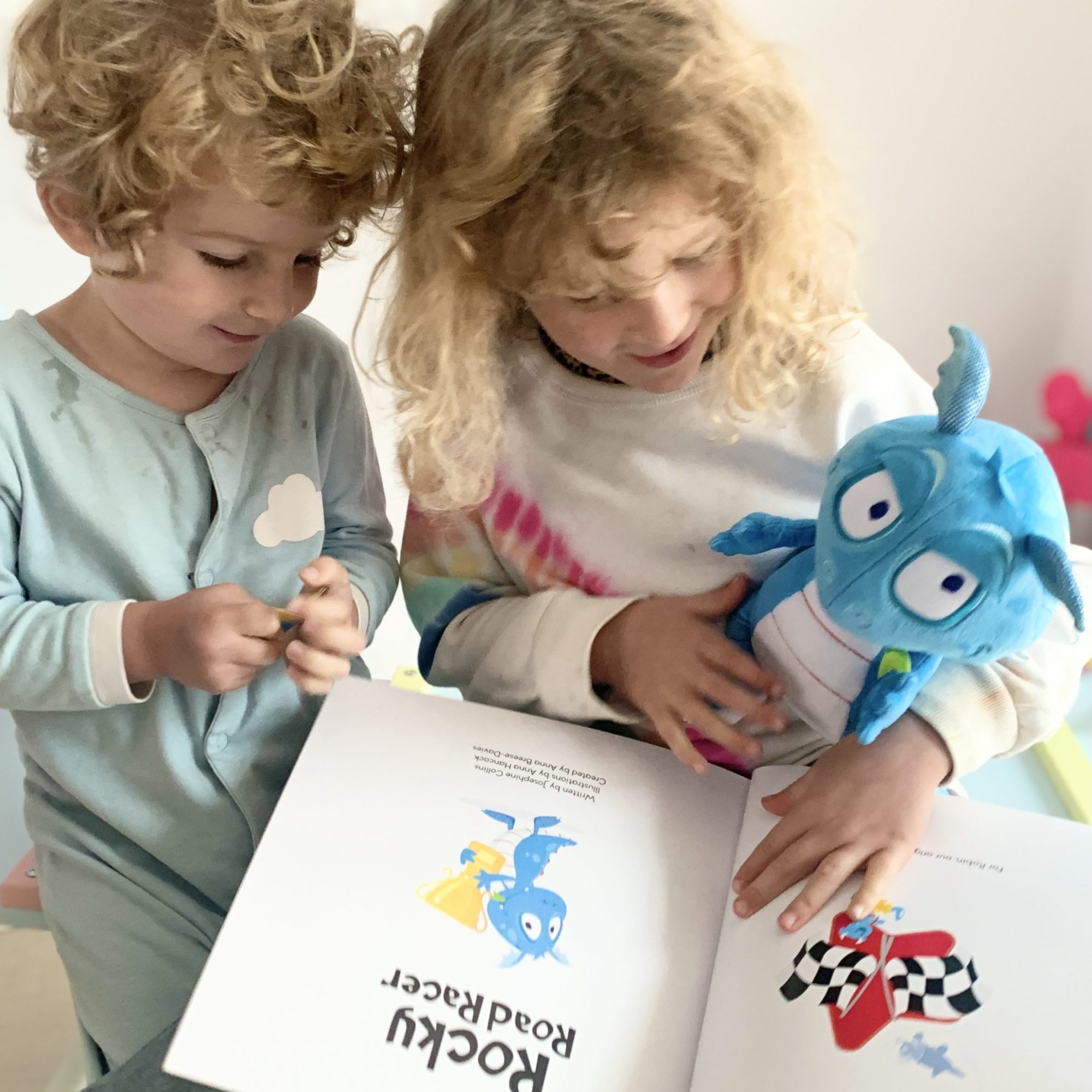 Cheeky Monsters Rocky Road Racer Character & Book Review