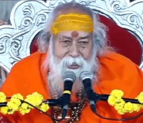 Dwarka Shankaracharya on Satpanth at Unjha