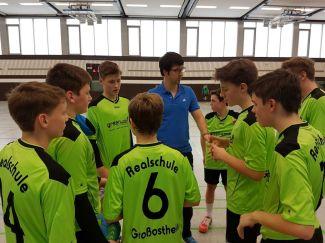 2016 2017 Handball Bezirksfinale Jungen 3 4