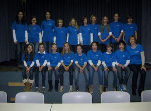 Schuljahr 2013/14: Auftritt der Chorklase 6e beim Bezirks-Elterntag