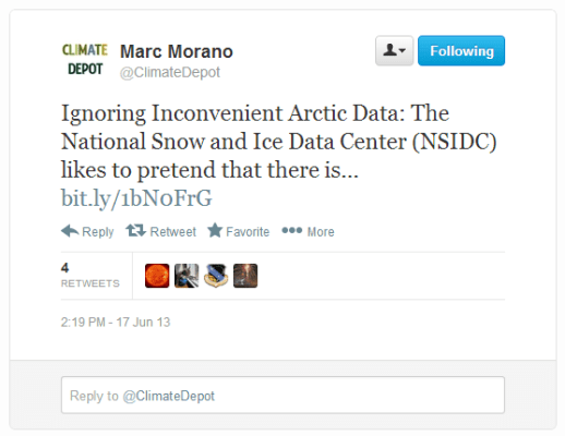 climate-depot-arctic-data