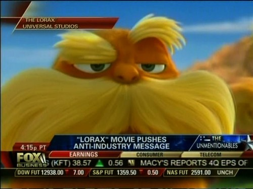 Fox on The Lorax