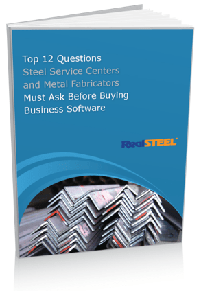 Top 12 Questions Steel Service Centers and Metal Fabricators Must Ask Before Buying Business Software