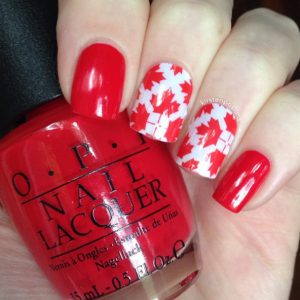 Cool Canada Day Manicures To Capture Your Inner Canuck Nails