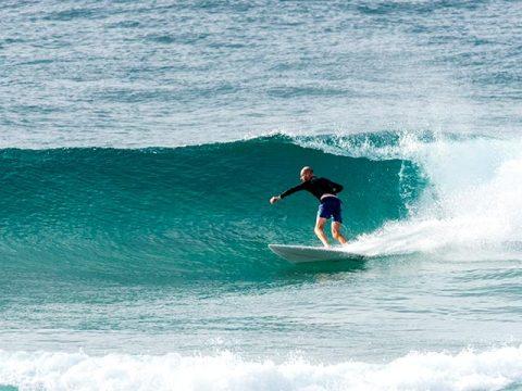 Curl Curl surfer