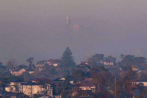 city smoky