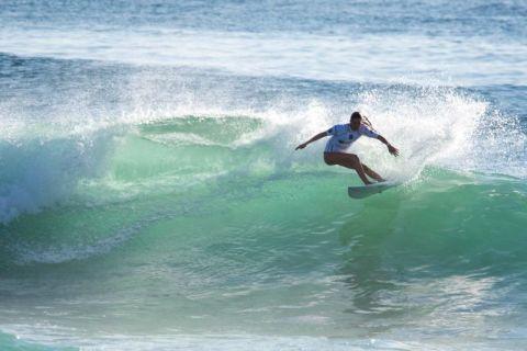 north steyne woman surfing
