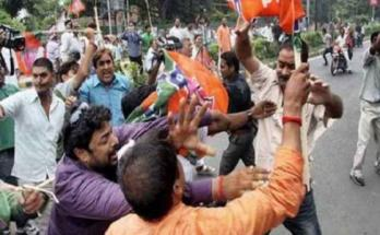 West Bengal, Violent clashes, B J P, Trinamool Congress, Worker death,