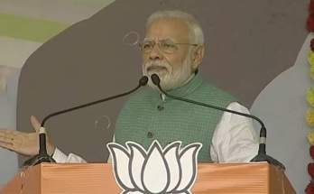 Prime minister, Narendra Modi, Dumka of Jharkhand, Election public meeting,