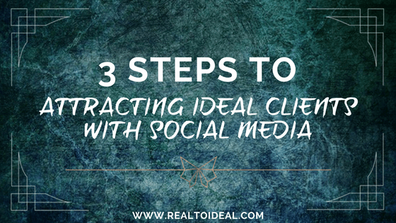 attract clients on social media