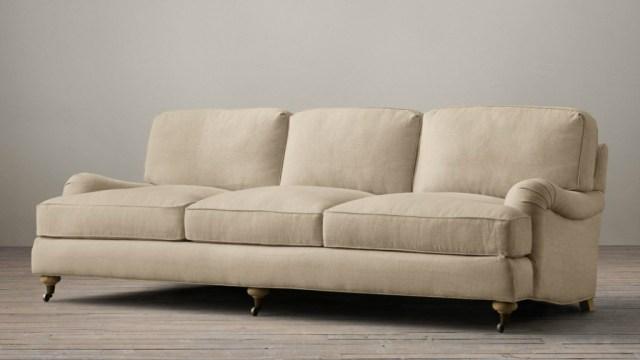 English arm sofa at Restoration Hardware