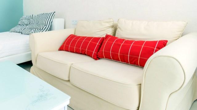 Loose-back sofa