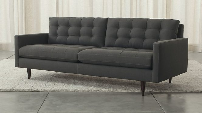Track-arm Petrie sofa from Crate & Barrel