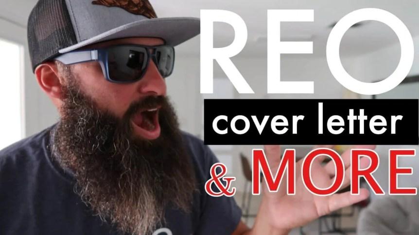 REO Cover Letter REO resume