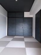 モダン和室 襖