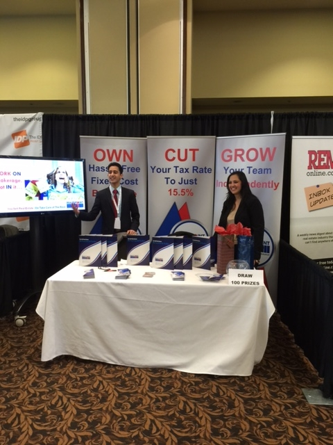 Neelo and Mahmood at Realtor Connect Durham (November 2014)