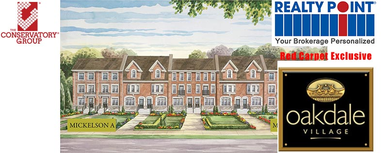 Oakdale Village Homes in North York Exclusive Red Carpet VIP Sale