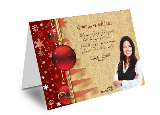 Real Estate Holiday Greeting Cards Realtor Holiday