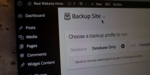 Easy WordPress Backup