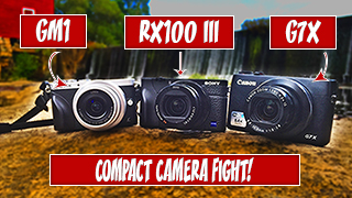 Three compact cameras for taking great website pictures
