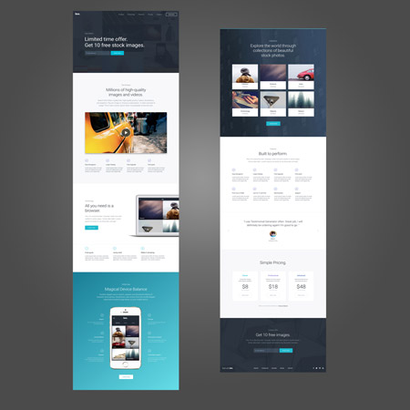 Free Divi Theme Templates Web Page And Website Templates Real - Website splash page templates