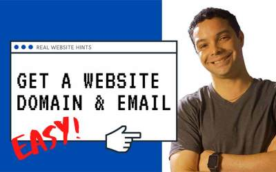 How to get a domain name & email