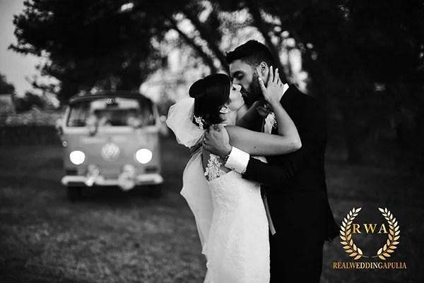 bacio sposi lecce matrimonio Salento