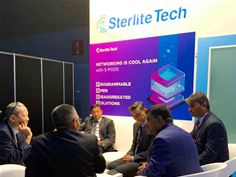 Sterlite Tech having discussion with key clients at MWC2019