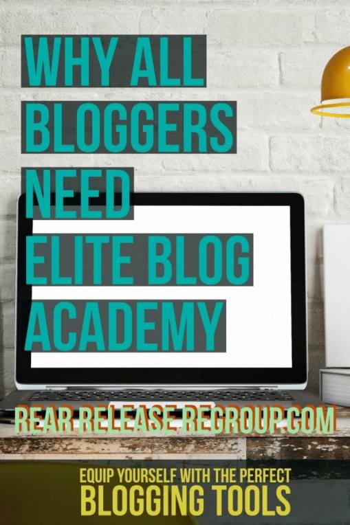 Why all bloggers need Elite Blog Acadamy and how this intense, self-paced program can bring your blog to the success it deserves.